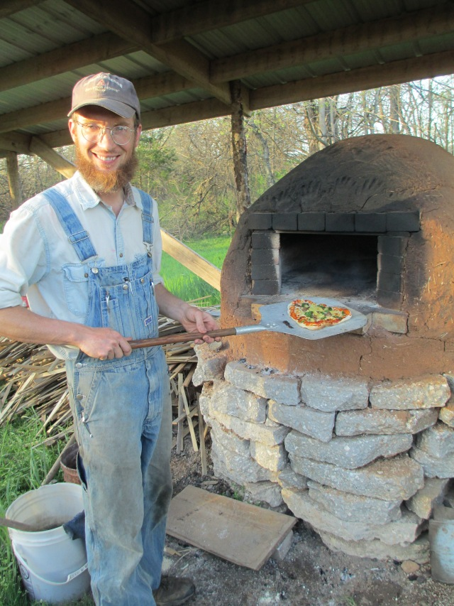 Our wood-fired oven