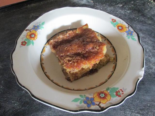 Rhubarb Cake, dairy free
